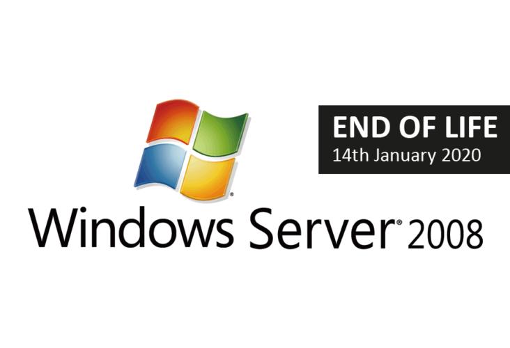 Ukončení podpory pro Windows Server 2008